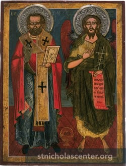 Saints Nicholas and John the Baptis