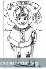 St. Nicholas Center ::: Coloring