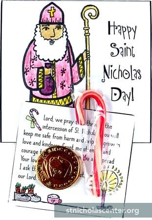 St Nicholas Center Notecard