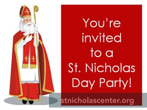 St Nick invitation