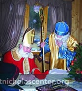 Answering letters to St. Nicholas