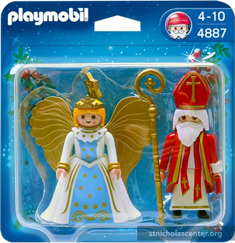 Playmobil St Nikolaus and Christkind