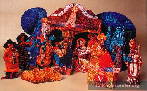 Nativity Of St. Nicholas, St. Nicholas Hussite Church, Prague St. Nicholas  Center Collection
