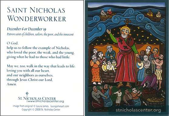 Prayer to Nicholas the Wonderworker for the healing of a sick child or adult 14