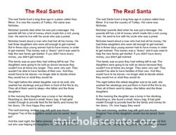 The Real Santa two-sided