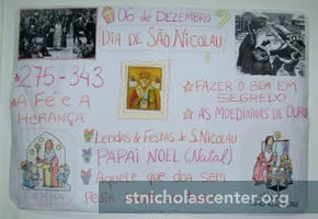 Poster about St Nicholas