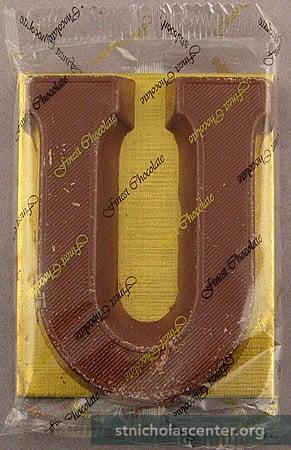 St Nicholas Center Chocolate Letters