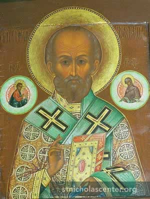19th Century Russian Icon - St. Nicholas Center Collection