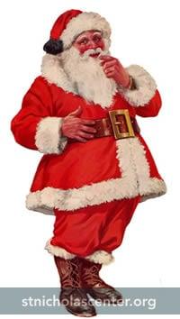 St Nicholas Center Talking About Santa Claus