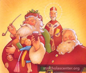 St Nicholas Center Origin Of Santa