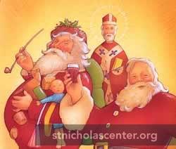 Nast Santa, St Nicholas, Coke Santa