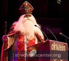 St Nicholas speaking