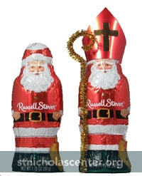 Russell Stover Chocolate Santa into St Nicholas