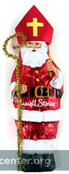 Russell Stover solid Santa Nicholas