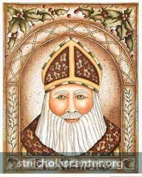 Saint Nicholas by Susan Seals
