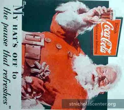 Coca-Cola Invento Santa Claus?
