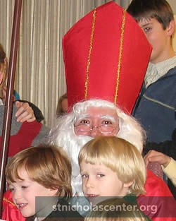 St. Nicholas with children