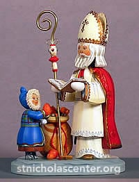 Saint Nicholas with child